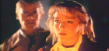 Tim Thomerson is the star but Helen Hunt went onto mainstream Hollywood success after Trancers.