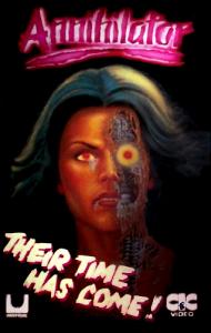 Annihilator movie 1986 box art
